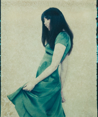 Polaroid transfer