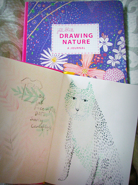 Day 342 - Drawing and a new journal...