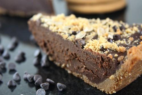 Chocolate Sunbutter Pie - Vegan, allergy friendly