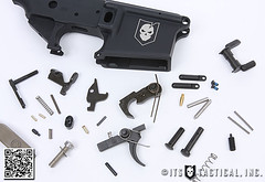 DIY AR-15 Build - Magazine Catch 06