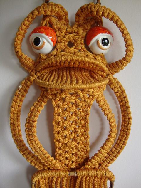 Macrame Frog