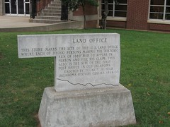 Exploring Oklahoma History: Land Office