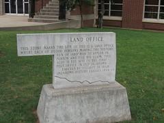 Land Office  Guthrie,Ok