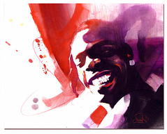Busta Rhymes (DAN23-PHOTO) Tags: dan aquarelle 23 hip hop musique dan23