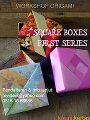 origami (square boxes) (revidevi) Tags: origami paperfolding paperboxespapercraftjapancraft