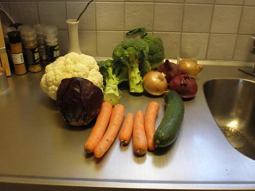 Dagens grön- och rotsaker