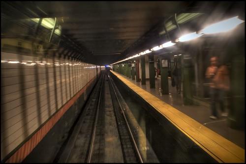 Subway platform at Union Square