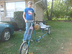 10ft. long (rhondapple_2000) Tags: welding bikes bicycles lowrider