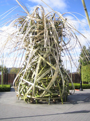 Bamboo sculpture