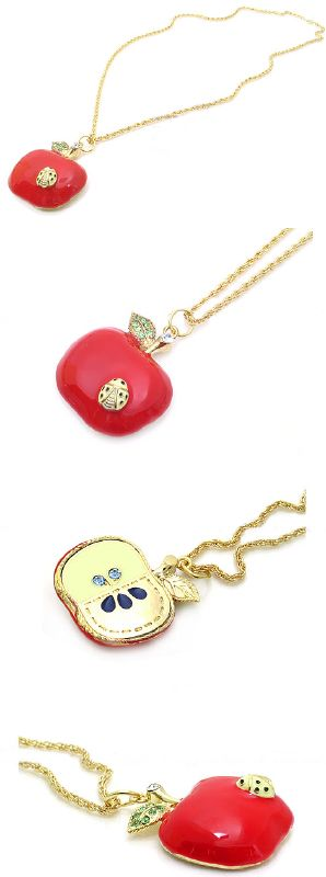 Half apple necklace : Asian iCandy Store, Unique Asian Arts and Gifts From Independent Artists