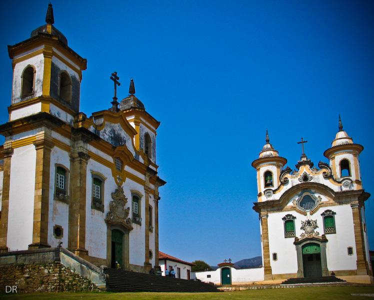 Igrejas em Mariana, MG