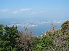 View of Miyajima-Guchi From Mt Misen Summit