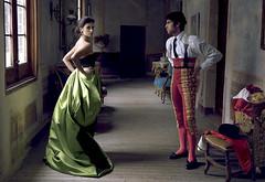 Penélope Cruz y Cayetano en la revista Vogue