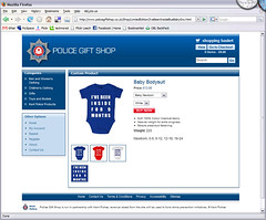 Kent Police Online gift shop, 28th November 2007