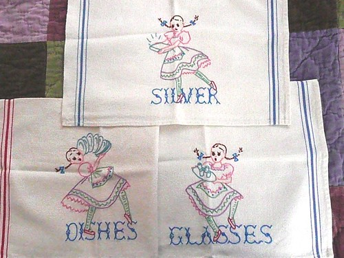 Clumsy Girl Tea Towels