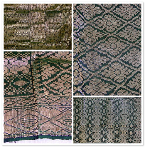 Big Green Songket