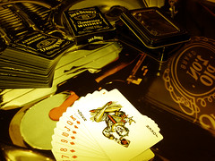 Jack Daniel's Poker (charlesbegniamino - Italy) Tags: bridge game jack tennessee whiskey poker daniels gioco whishy