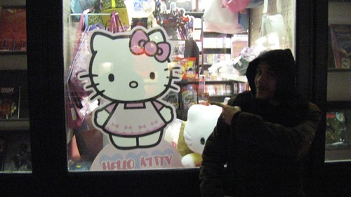 Flo loves Hello Kitty