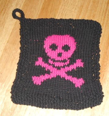Pirate Washrag 1