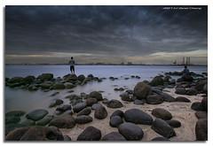 Dry Ice Fishing (DanielKHC) Tags: longexposure sea beach digital landscape inter