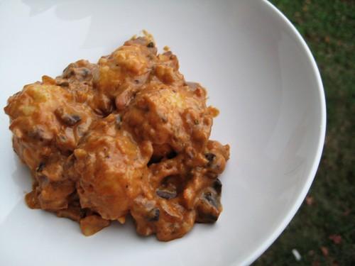 mushroom paprikash