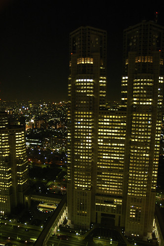 Night Scene at Shinjuku