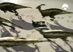 prehistoric park Parasaurolophus pack