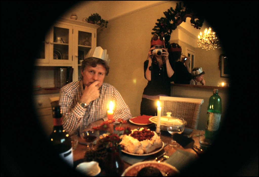 Wide-Angle Christmas Dinner Shoot-Out with Confusion