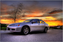 My Accord in HDR (Extra Medium) Tags: sunset interestingness scenery hotrod slideshow camarillo hdr venturacounty sportscar hondaaccord photomatix welltaken curvyroad hdrcars explore14 2007hondaaccord notatallboringness neverbeeninacrash