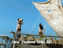 new zealand 1280 AD new comers