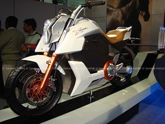 Bikes Modified By Dc Concept E Bike from TVS Motors