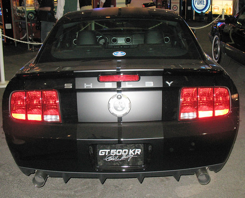 1st 2008 Ford Mustang GT500-KR