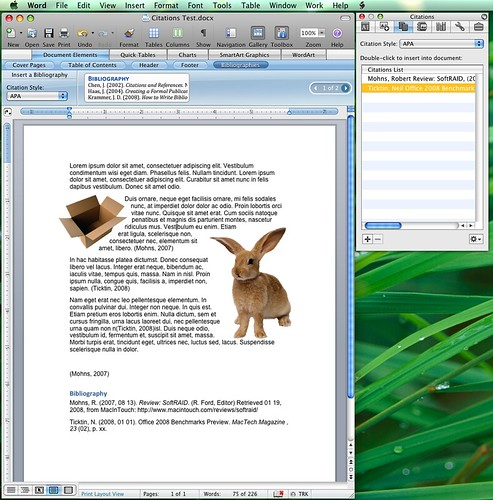 word citations and bibliography You can create a bibliography microsoft word 2010 is a great editor that can help you to save time in creating references and citations microsoft word 2010.