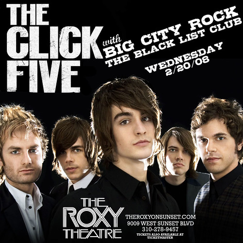 The Click Five - 2/20