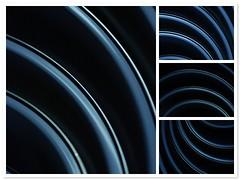 Schsselset Collage (eriwst) Tags: detail kitchen collage fdsflickrtoys nikon freestyle mosaic bowl line kche nikkor curve schssel saladbowl 60mmf28micro lichtschatten d80