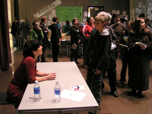Ellen Forney, Comixtravaganza, Seattle Public Library, 01/26/08