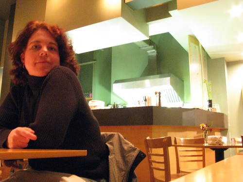 Kat @ Rain Coast Cafe, Tofino, BC, Canada