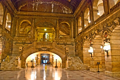 Lobby, Surrogates Court, Manhattan, New York, 13 Feb. 2008 by PhillipC, on Flickr