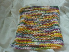 socksndishcloth 019 (crochet-along) Tags: knitting craft yarn dishcloth cotton