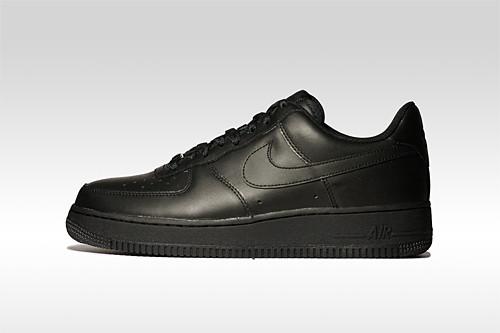 black air force ones