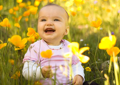 Wild Flower (cotigchez) Tags: family flowers baby children outdoors spring infant jordan knightsferry