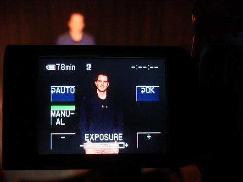 Video Camera - Manual Exposure