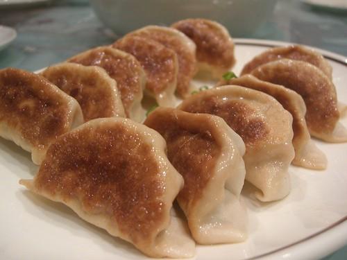 鱼肉 芥菜 煎饺 Panfried - Julia's fish and mustard greens dumpling