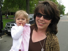Stephanie Bourland and baby