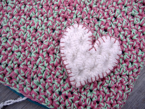 test pattern (closeup heart)