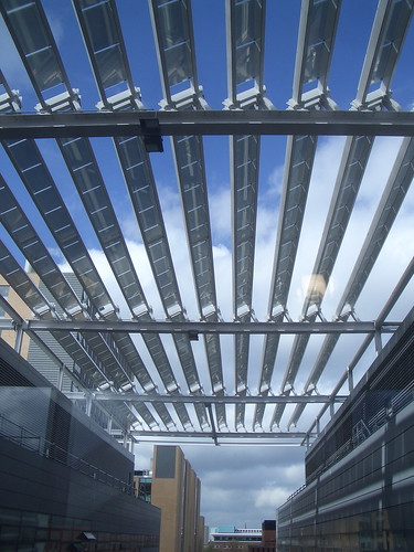 Solar Panels on Turing building