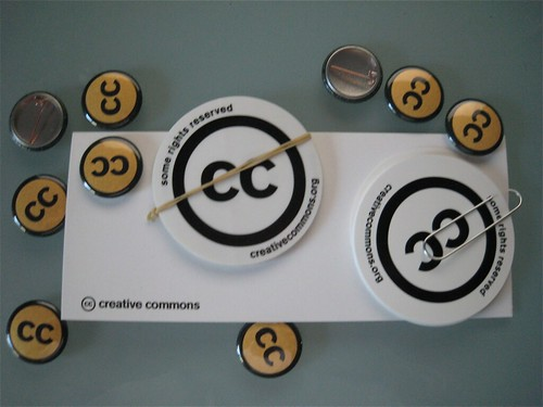 Some Creative Commons Schwag