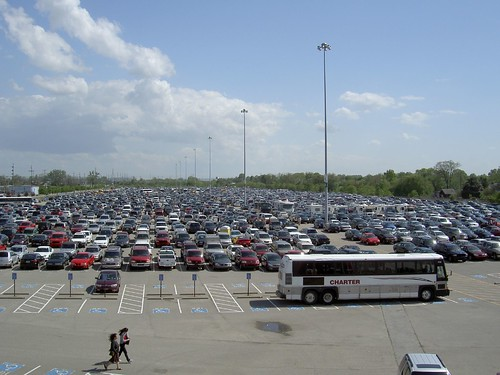 The derby parkinglot