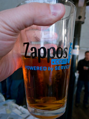 Zappos.com Pint Glass