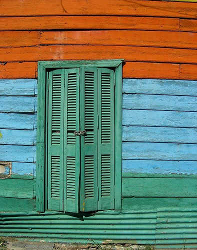 the La Boca neighborhood, Buenos Aires, Argentina
